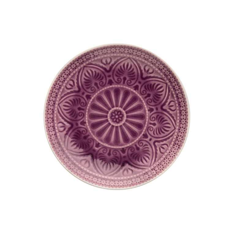Тарілка діам. 21 см фіолетова 10192320