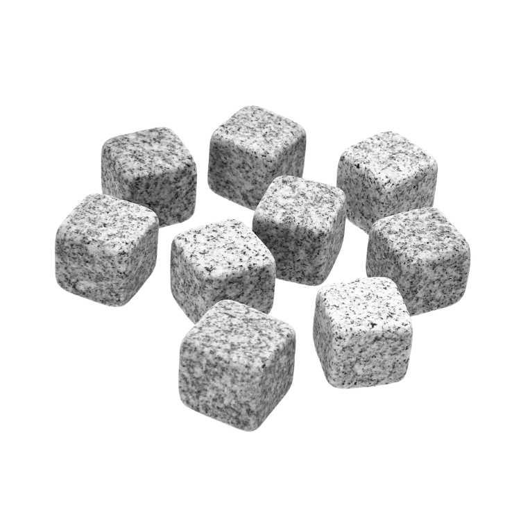 Камінці для охолодження напоїв в мішечку (1 набір=9шт)