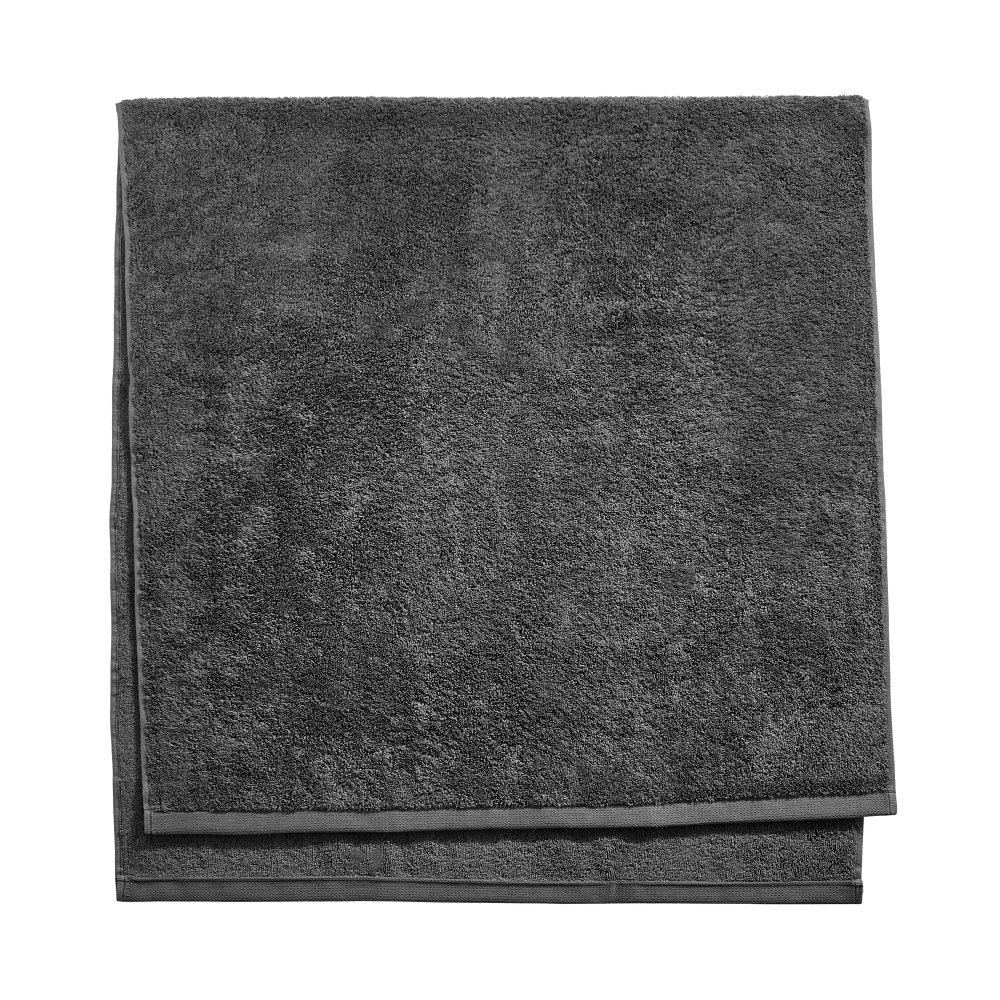 Махровий рушник для ванної кімнати 70х140см,темно-сірий