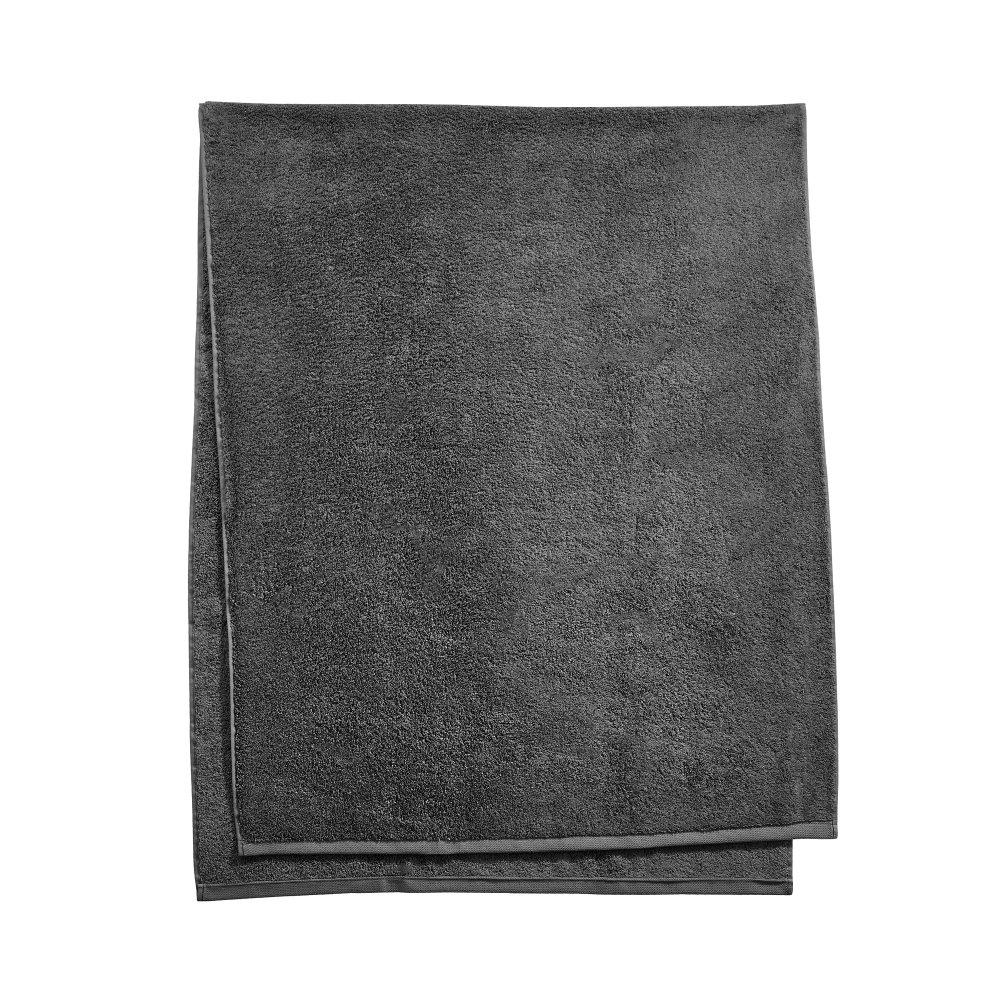 Махровий рушник для сауни 80х200см,темно-сірий