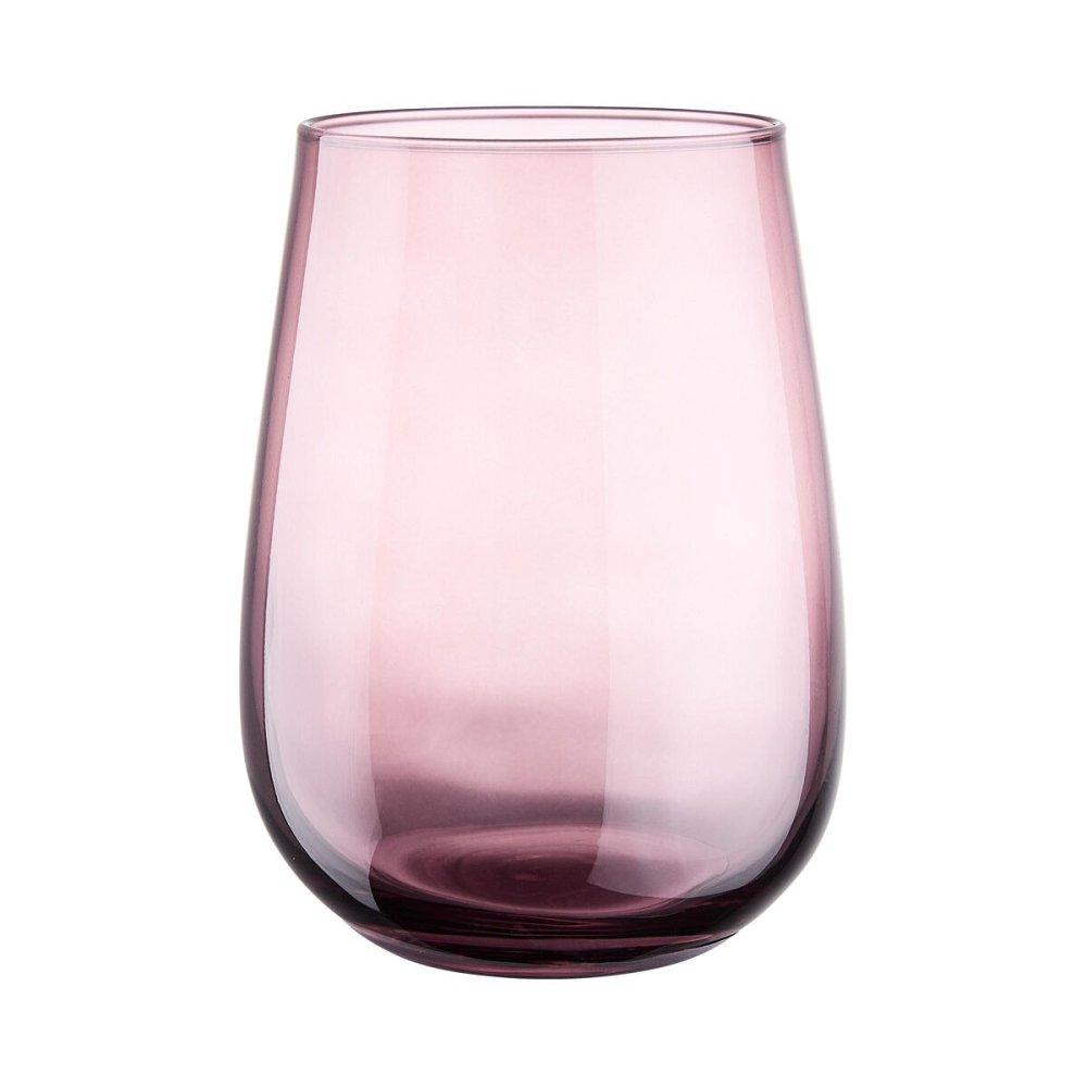 Склянка діам 8,5см об''єм 590мл, червона
