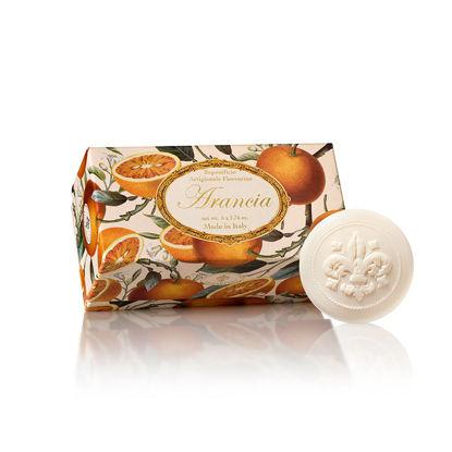 Изображение Мыло с ароматом апельсина SAF-PROFUMI DEL SOLE (Orange)  Набір 6 шт. V:50 гр. SAF-FO38