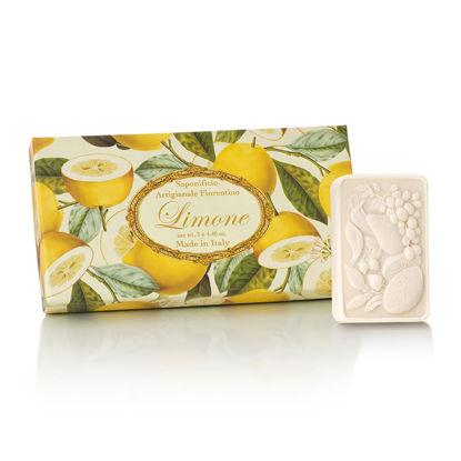 Зображення Мило з ароматом лимона  SAF-PROFUMI DEL SOLE (Lemon)  125 гр. SAF-S177