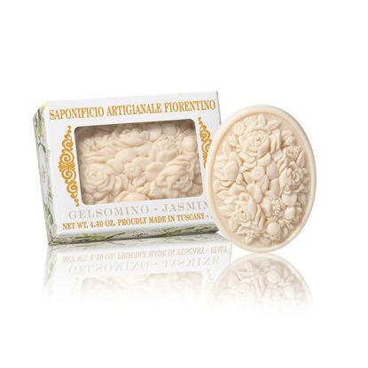 Изображение Мыло с ароматом жасмина, круглое SAF-BOTTICELLI  V:125 гр. SAF-YK5