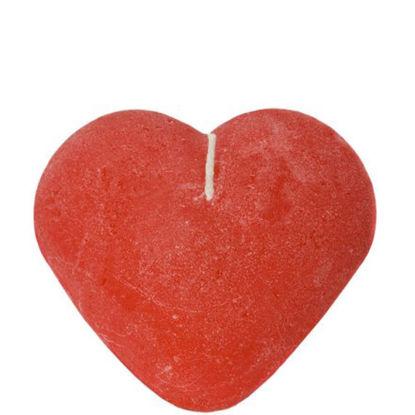 Изображение Свечка HEART Красный 5.3х10.3 см. 10002933