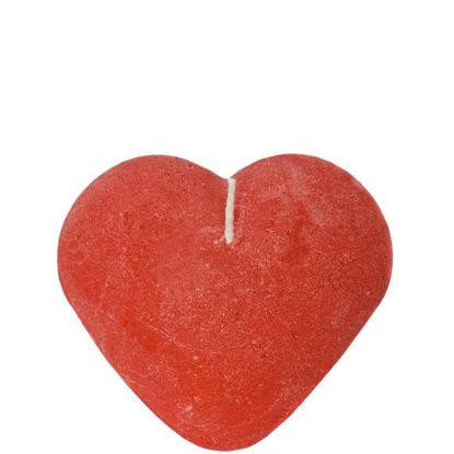 Зображення Свічка HEART Червоний 3.5х6 см. 10018965