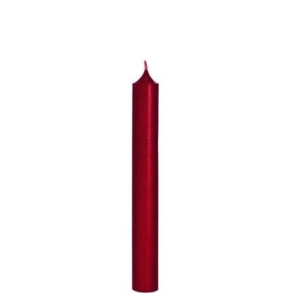Зображення Свічка RAINBOW Коричневий H:17 см. 10027028