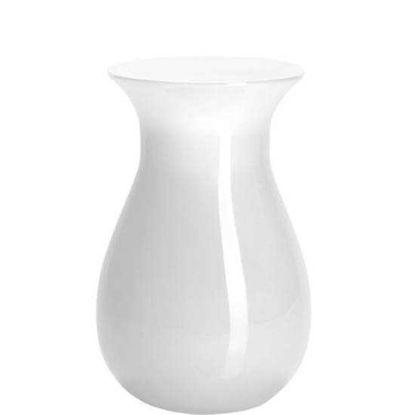 Зображення Ваза для квітів BELLE Білий H:18 см. 10111604