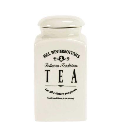Зображення Ємність для чаю MRS. WINTERBOTTOM'S Білий H:20 см. 10124833