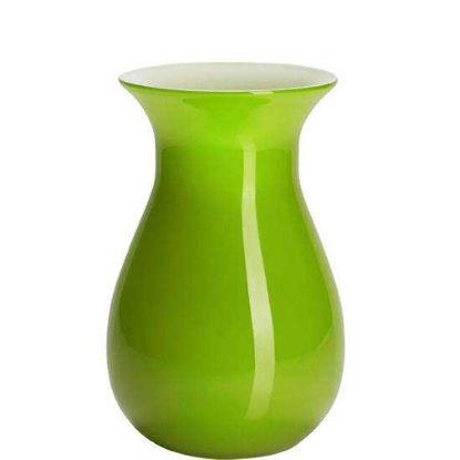 Зображення Ваза для квітів BELLE Зелений H:18 см. 10128961