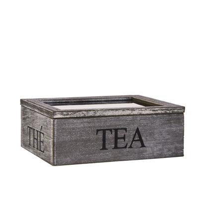Зображення Коробка для зберігання пакетиків чаю CAMPAGNE Бежевий 19.5х15.5х8 см. 10135600