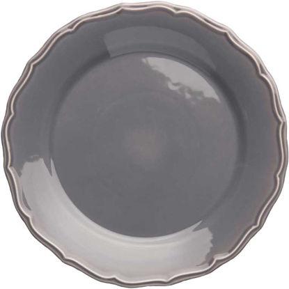 Изображение Тарелка EATON PLACE Серый в сочетании O:32 см. 10172322