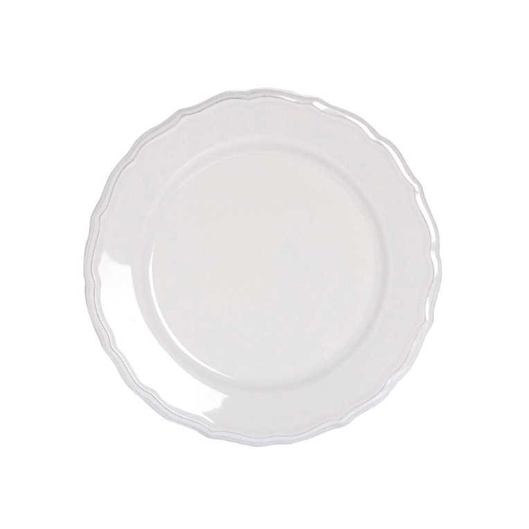 Изображение Тарелка EATON PLACE Белый O:21.5 см. 10172346
