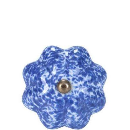 Изображение Ручка для мебели OPEN Синий O:5 см. 10188540