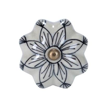 Изображение Ручка для мебели OPEN Серый O:5 см. 10188541
