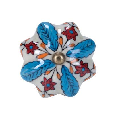 Изображение Ручка для мебели OPEN Голубой в сочетании O:5 см. 10188542