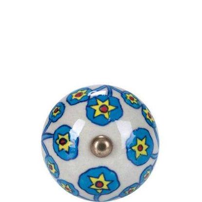 Изображение Ручка для мебели OPEN Голубой в сочетании O:5 см. 10188543