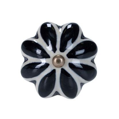 Изображение Ручка для мебели OPEN Черный в сочетании O:5 см. 10188544