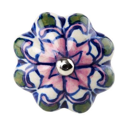 Изображение Ручка для мебели OPEN Синий в сочетании O:5 см. 10188548