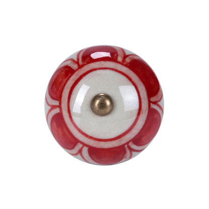 Зображення Ручка для меблів OPEN Червоний в поєднанні O:5 см. 10188549
