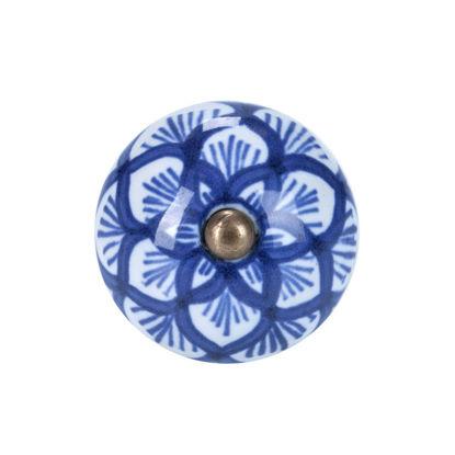Изображение Ручка для мебели OPEN Синий в сочетании O:4 см. 10188550