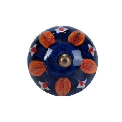 Изображение Ручка для мебели OPEN Синий в сочетании O:4 см. 10188551