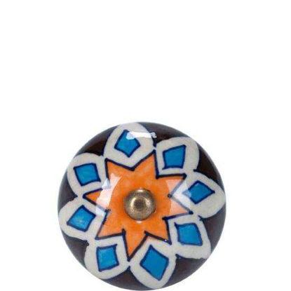 Изображение Ручка для мебели OPEN Голубой в сочетании O:5 см. 10188552
