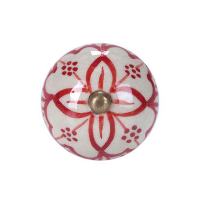 Изображение Ручка для мебели OPEN Красный в сочетании O:4 см. 10188553