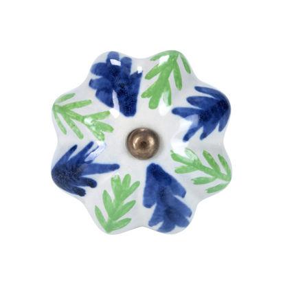 Изображение Ручка для мебели OPEN Синий в сочетании O:5 см. 10188556
