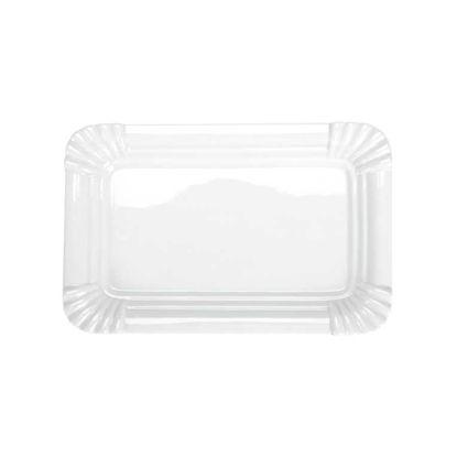 Изображение Тарелка PURO Белый 25х16.5 см. 10188757