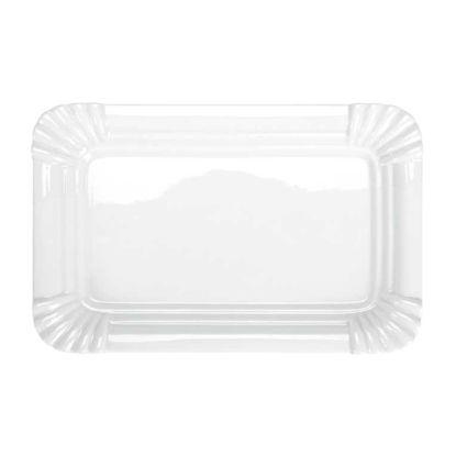 Изображение Тарелка PURO Белый 30.5х19.5 см. 10188758
