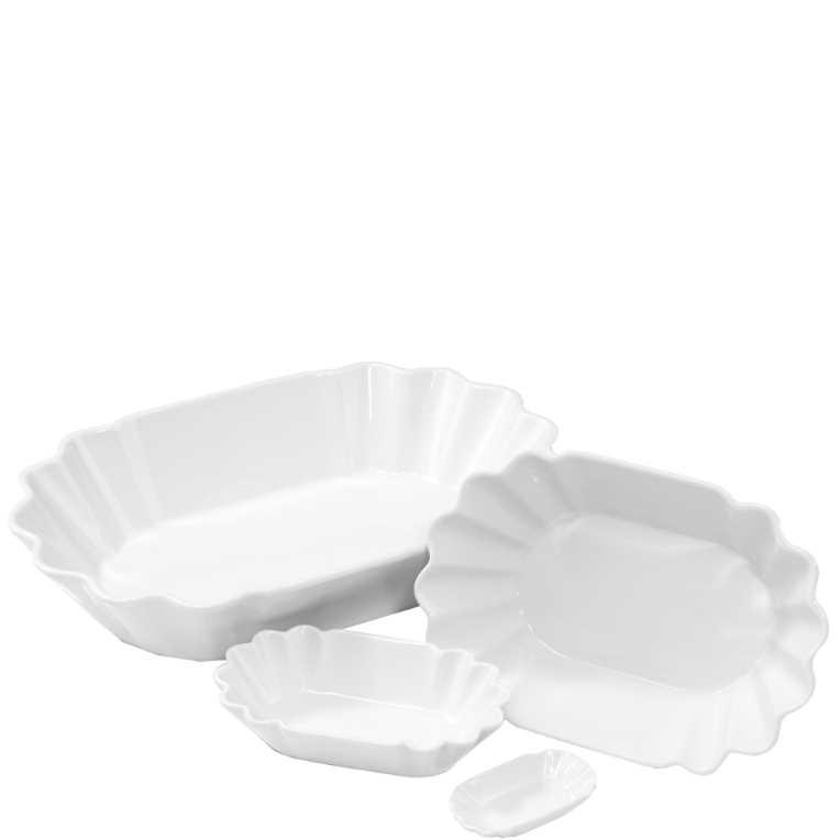 Зображення Блюдце PURO Білий 16.5х9.5х4 см. 10188759