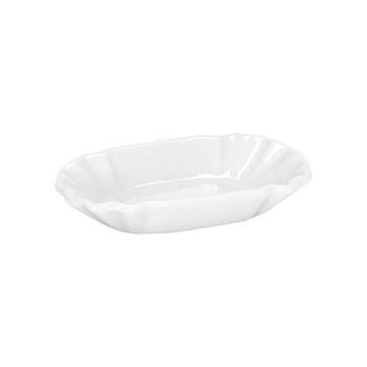 Изображение Блюдце PURO Белый 16.5х9.5х4 см. 10188759
