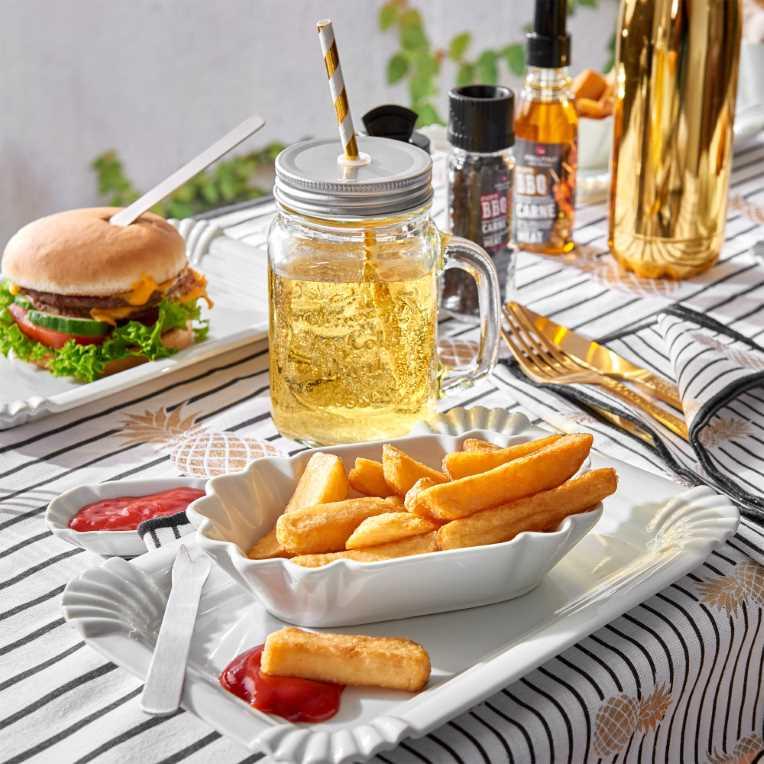 Зображення Виделка для картоплі-фрі MC ROYAL Білий 10 см. 10189030