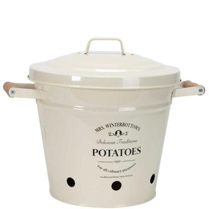 Изображение Ведро для картошки MRS. WINTERBOTTOM'S Белый H:32 см. 10189469