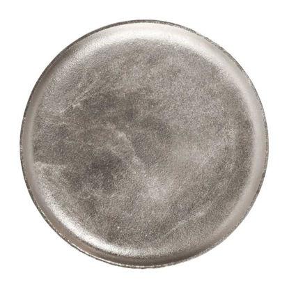 Зображення Тарель декоративна BANQUET Срібний O:35 см. 10193849