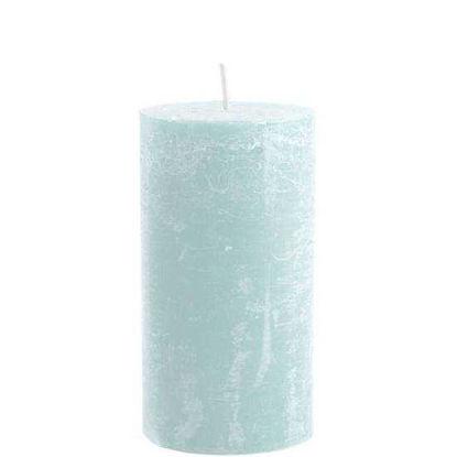 Зображення Свічка RUSTIC Блакитний 7х13 см. 10193955