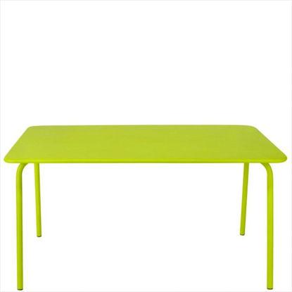 Зображення Стіл садовий CALYPSO Зелений 140х80х73 см. 10195466