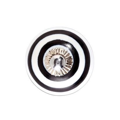 Изображение Ручка для мебели OPEN Черный в сочетании O:5 см. 10197607