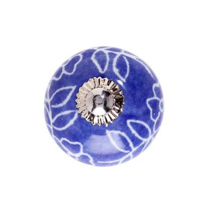 Изображение Ручка для мебели OPEN Синий O:5 см. 10197608