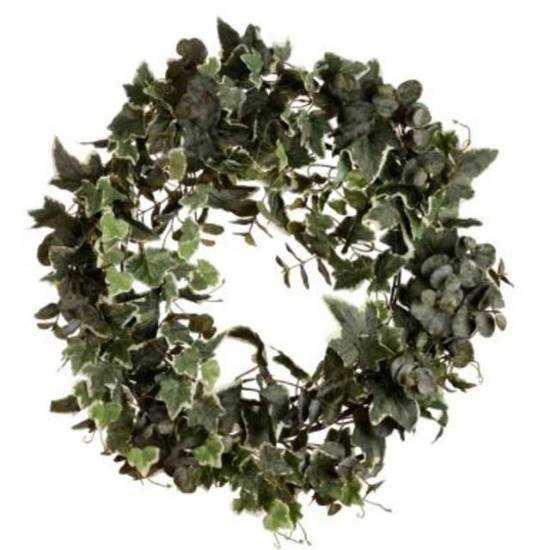 Зображення Вінок декоративний WINTERGREEN Зелений O:60 см. 10197851