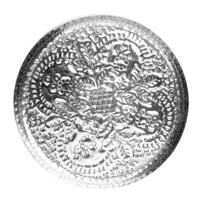 Зображення Тарель ORIENTAL LOUNGE Срібний O:36.5 см. 10201193