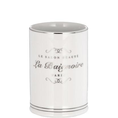 Изображение Стакан для ванной комнаты SALON BEAUTY Белый в сочетании 10201356