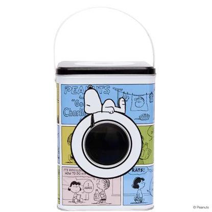 Зображення Контейнер для зберігання прального порошку PEANUTS Комбінований 15х15х20 см. 10201446