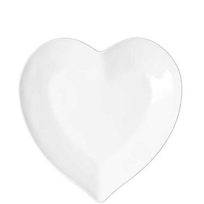 Изображение Тарелка HEART Белый O:14 см. 10201714