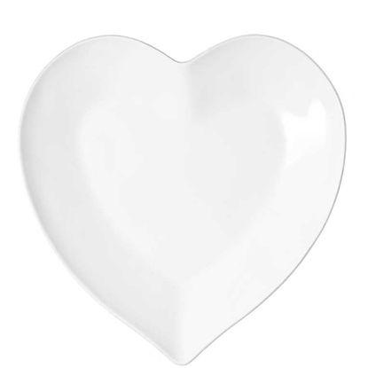 Зображення Тарілка HEART Білий O:20 см. 10201715