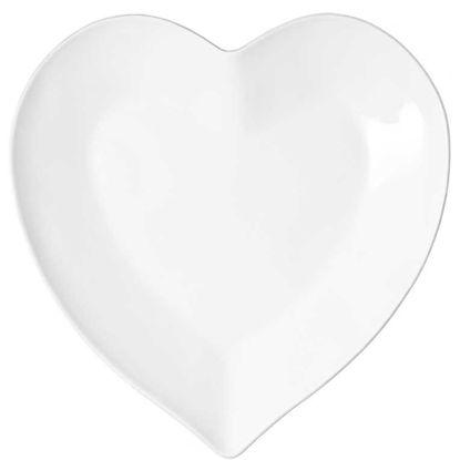 Зображення Тарілка HEART Білий O:28 см. 10201716