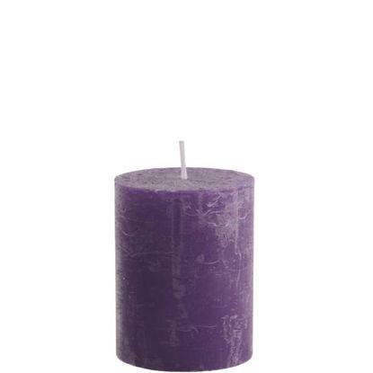 Зображення Свічка RUSTIC Бузковий в поєднанні 6.8х9 см. 10201726