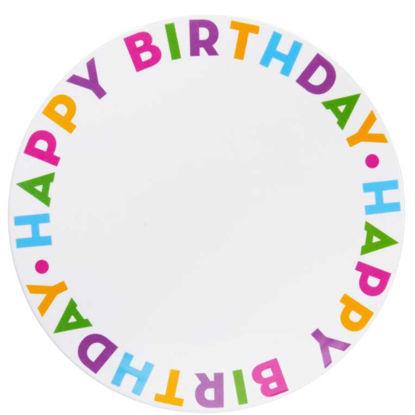 Изображение Тарелка HAPPY BIRTHDAY Комбинированный O:32 см. 10202645