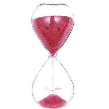 Изображение Часы песочные BRUSH HOUR Розовый 10202811